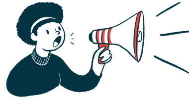 Zephyr Valve | COPD News Today | Illustration of woman using megaphone