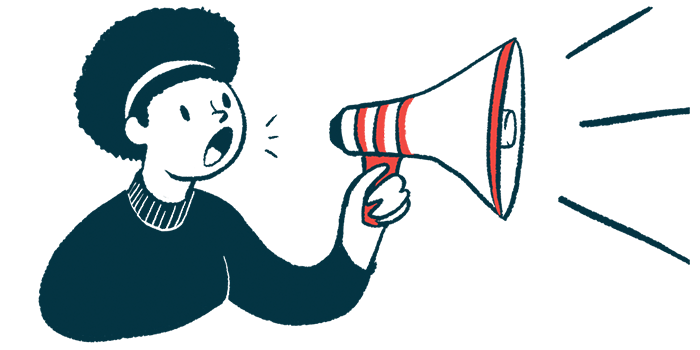 targeted lung denervation | COPD News Today | Illustration of woman using megaphone