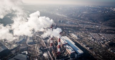 quality of life | COPD News Today | air pollution | aerial view of industrial smokestacks